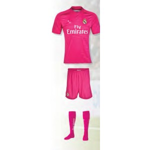 KIT REPLICA OFICIAL 2ª EQUIPACION REAL MADRID TEMPORADA 14/15
