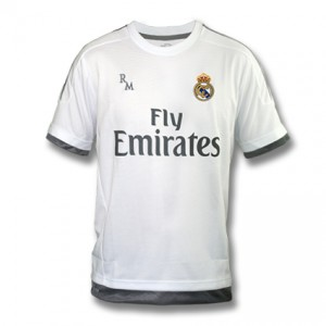 CAMISETA 1ª EQUIPACION REAL MADRID 15/16