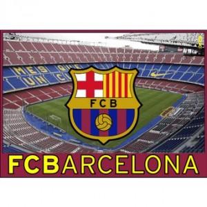 "Bandera F.C.Barcelona ""Camp Nou"""