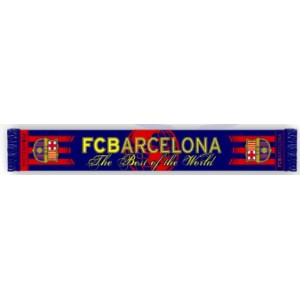 "Bufanda F.C.Barcelona ""Best of the world"""