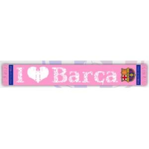 Bufanda I love Barça